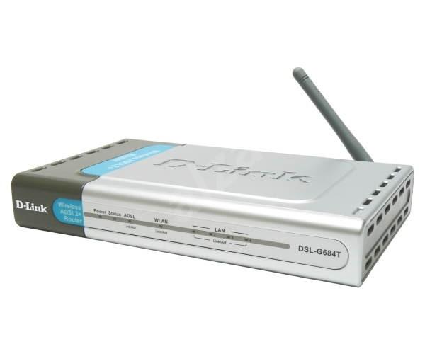 Externí ADSL2 modem D-Link DSL-G684T-ALZ -