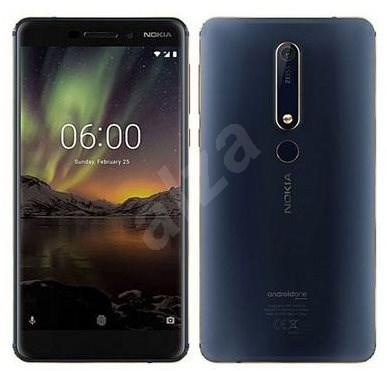 Nokia 6.1 Blue Dual SIM - Mobilní telefon