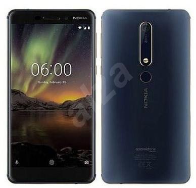 Nokia 6.1 Blue 64GB /4GB Dual SIM - Mobile Phone