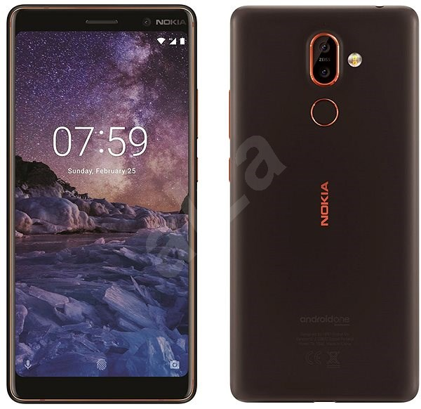 Nokia 7 Plus Black - Mobilní telefon