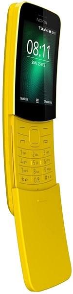 Nokia 8110 4G Yellow Dual SIM - Mobilní telefon