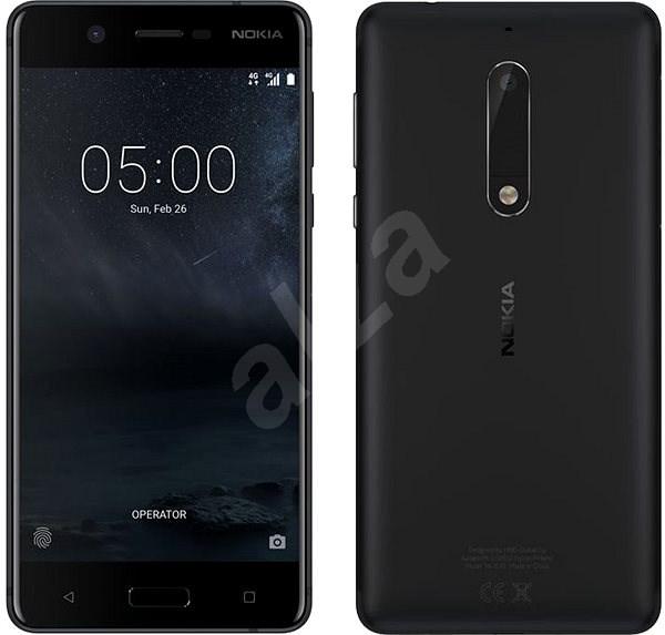 Nokia 5 Black Dual SIM - Mobilní telefon