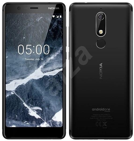 Nokia 5.1 Dual SIM černý - Mobilní telefon
