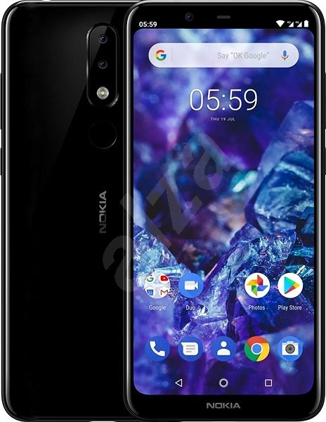 Nokia 5.1 Plus Black - Mobilní telefon