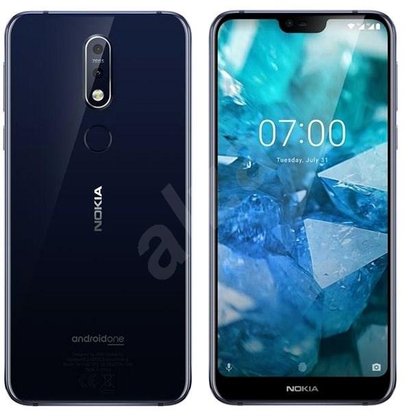 Nokia 7.1 Single SIM modrá - Mobilní telefon