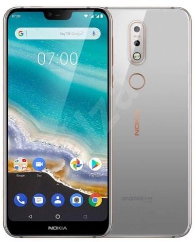 Nokia 7.1 Single SIM šedá - Mobilní telefon