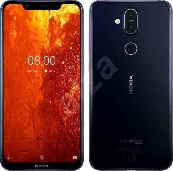 Nokia 8.1 modrá - Mobilní telefon