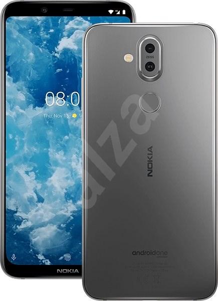 Nokia 8.1 šedá - Mobilní telefon