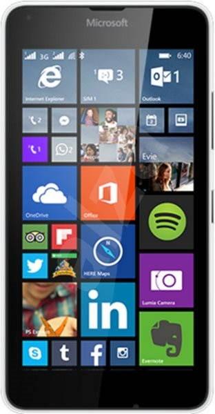 Microsoft Lumia 640 bílá Dual SIM - Mobilní telefon