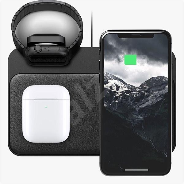 Nomad Base Station Apple Watch Edition 7.5W Black - Bezdrátová nabíječka