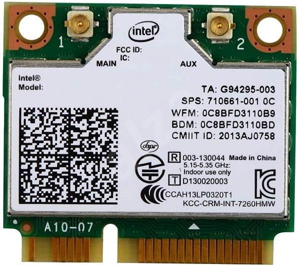 Intel Dual Band Wireless-N 7260 - WiFi síťová karta