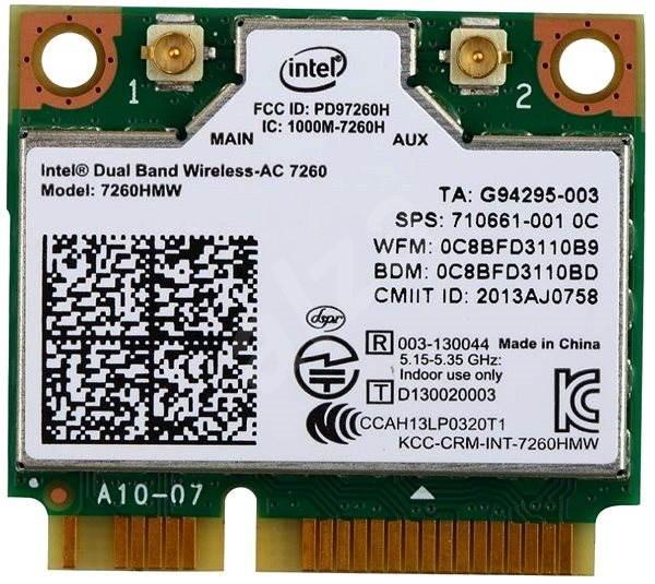 Intel Dual Band Wireless-AC 7260 - WiFi síťová karta