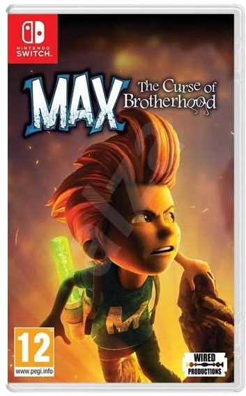 Max: The Curse of Brotherhood - Nintendo Switch - Hra pro konzoli