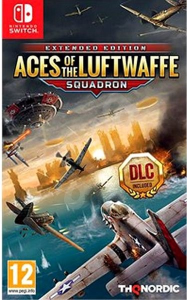 Aces of the Luftwaffe: Squadron Enchanced Edition - Nintendo Switch - Hra pro konzoli