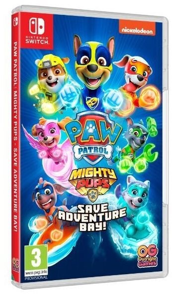 Paw Patrol: Mighty Pups Save Adventure Bay - Nintendo Switch - Hra na konzoli