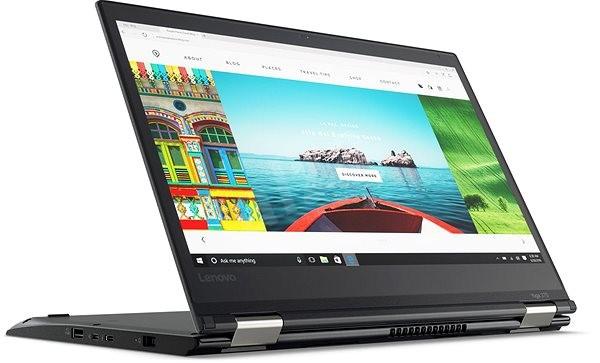 Lenovo ThinkPad Yoga 370 Black - Tablet PC