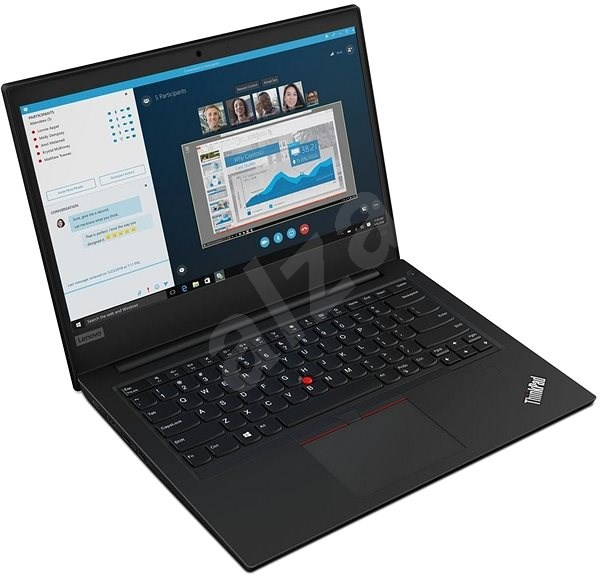 Lenovo ThinkPad E490 Black - Notebook