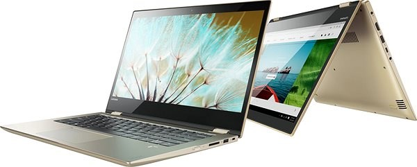 Lenovo Yoga 520-14IKBR Gold Metallic - Tablet PC