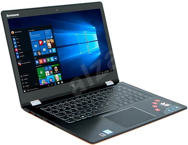 Lenovo IdeaPad Yoga 700-14ISK Clementine Orange - Tablet PC