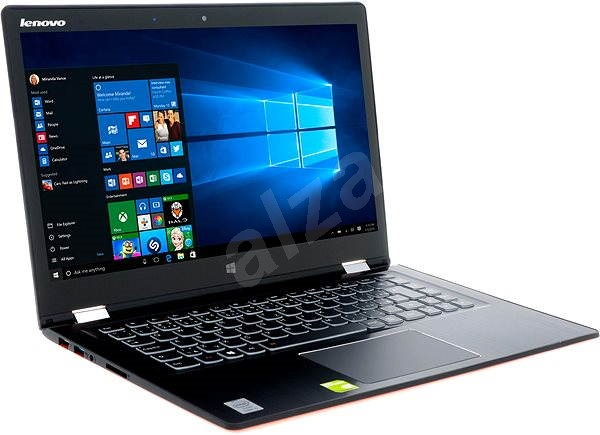 Lenovo IdeaPad Yoga 3 14 Clementine Orange - Tablet PC