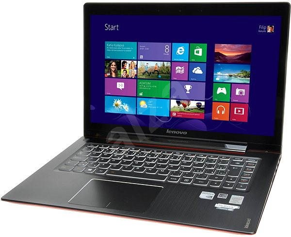 Lenovo IdeaPad U430 Crimson Red Touch - Ultrabook