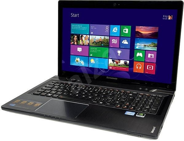 Lenovo IdeaPad Y580 Metal Gray - Notebook