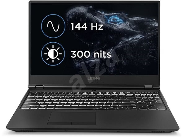 Lenovo Legion Y530-15ICH Black - Herní notebook