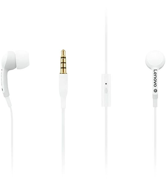 Lenovo 100 In-Ear Headphone White - Sluchátka
