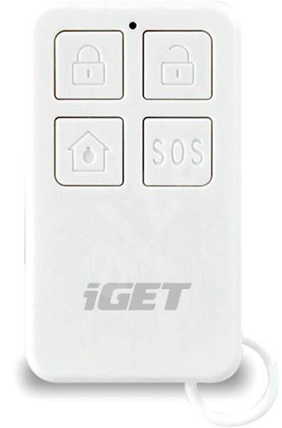 iGET SECURITY M3P5 - dálkové ovládání (klíčenka) k obsluze alarmu - Dálkový ovladač
