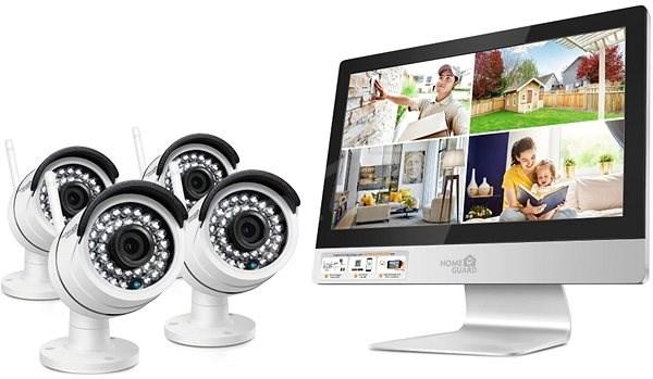 iGET HOMEGUARD HGNVK49004 - Kamerový systém