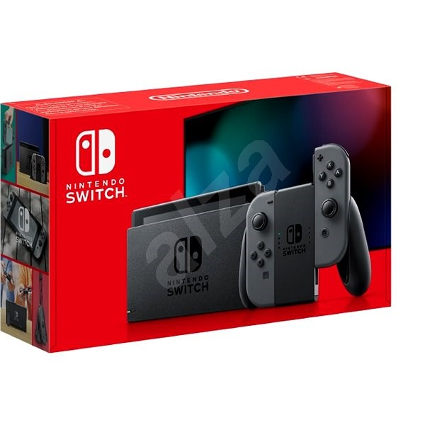 Nintendo Switch - Grey Joy-Con - Herní konzole