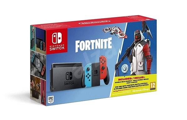 04321657dca Nintendo Switch - Fortnite Bundle - Herní konzole