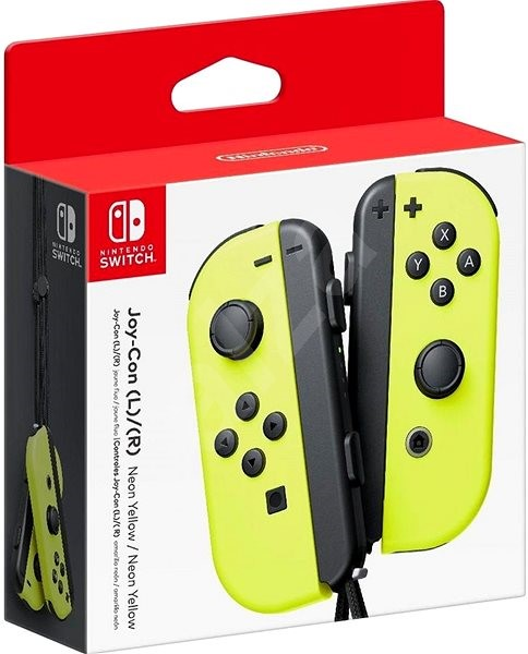 73bb7a99d43 Nintendo Switch Joy-Con ovladače Yellow - Gamepad