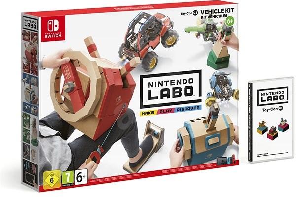 Nintendo Labo - Toy-Con Vehicle Kit pro Nintendo Switch - Hra na konzoli