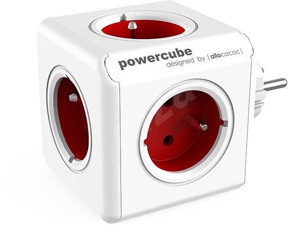 PowerCube Original červená - Zásuvka