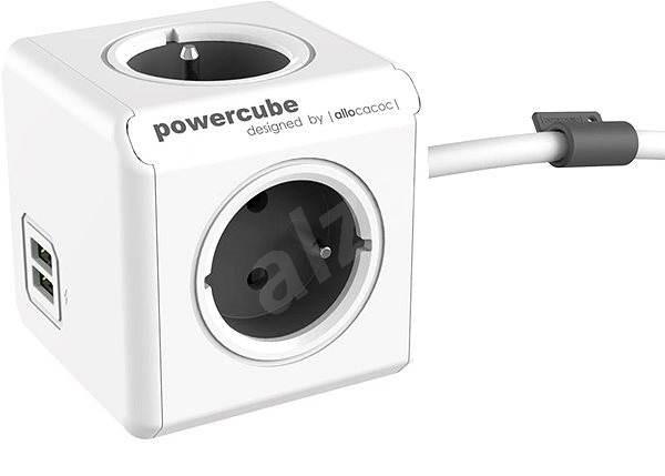 PowerCube Extended USB 3m - Zásuvka