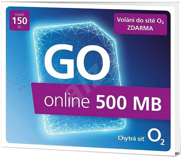 O2 Předplacená karta GO online - SIM karta
