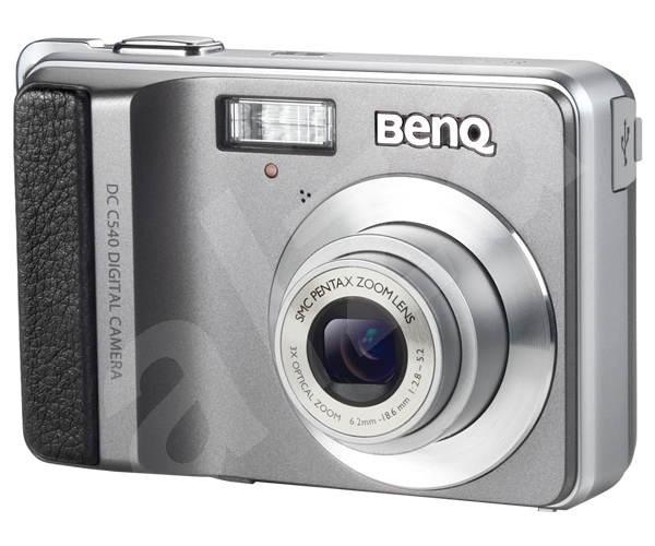 Digitální fotoaparát BenQ DC C540 - Digitální fotoaparát