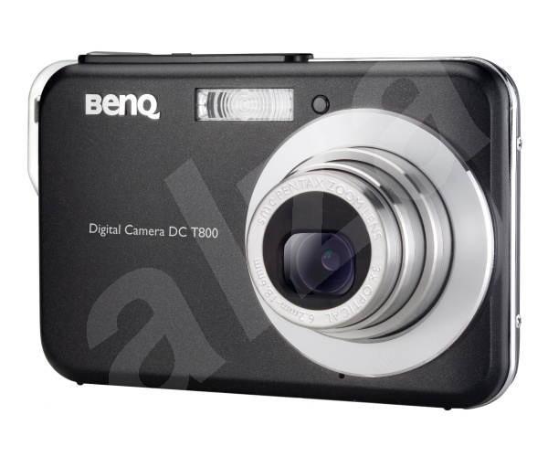 Digitální kompakt BenQ DC T800 černý - Digitální fotoaparát