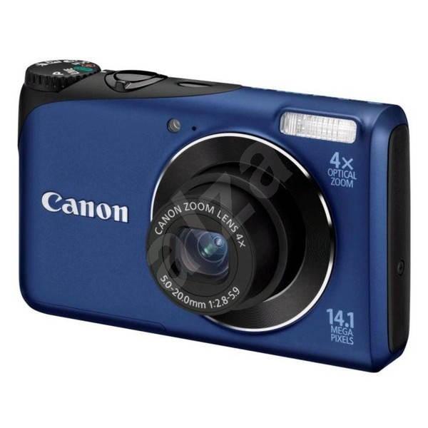 Canon PowerShot A2200 modrý - Digitální fotoaparát