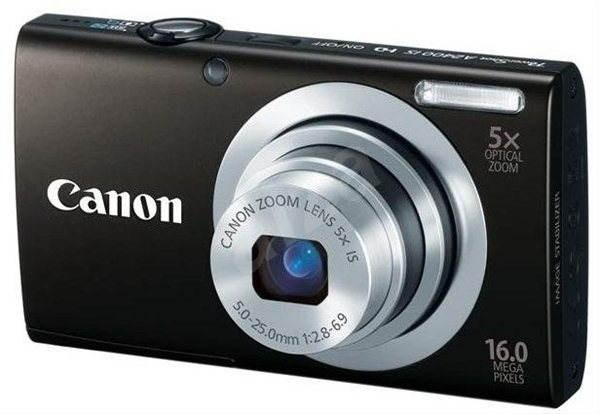 Canon PowerShot A2400 IS černý - Digitální fotoaparát