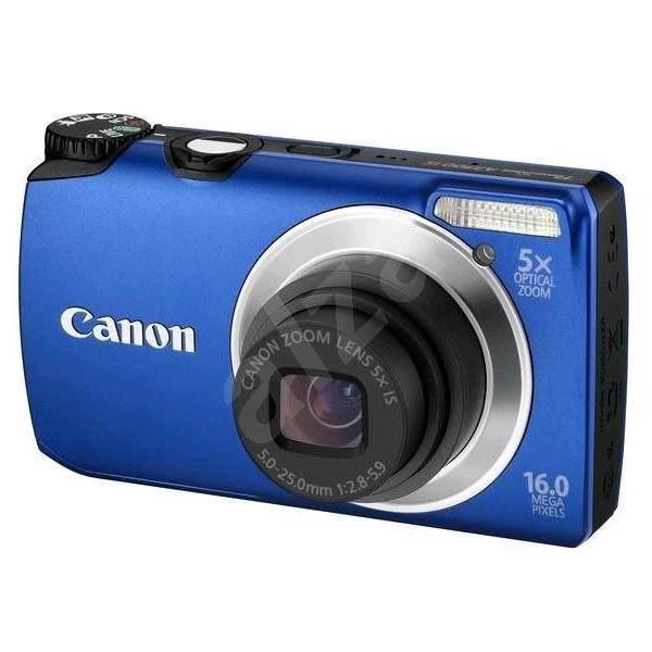 Canon PowerShot A3300 IS modrý - Digitální fotoaparát