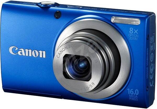 Canon PowerShot A4000 modrý - Digitální fotoaparát