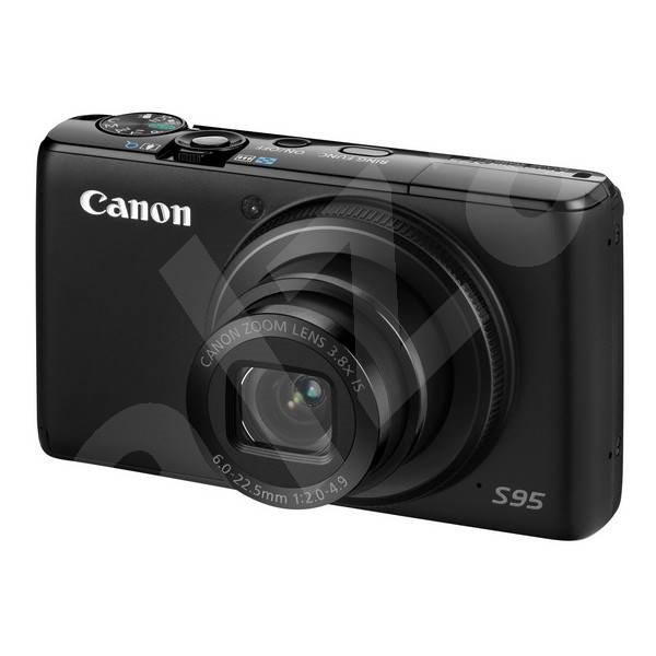 Canon PowerShot S95 IS černý - Digitální fotoaparát