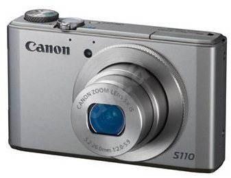 Canon PowerShot S110 stříbrný - Digitální fotoaparát