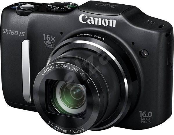 Canon PowerShot SX160 IS černý - Digitální fotoaparát