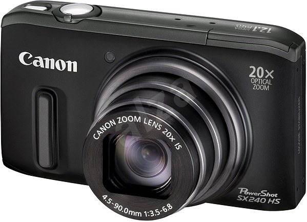 Canon PowerShot SX240 HS černý - Digitální fotoaparát