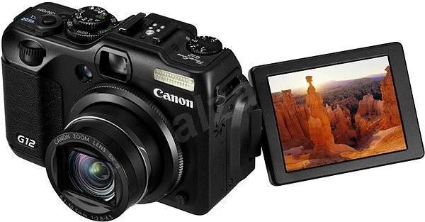 Canon PowerShot G12 IS - Digitální fotoaparát