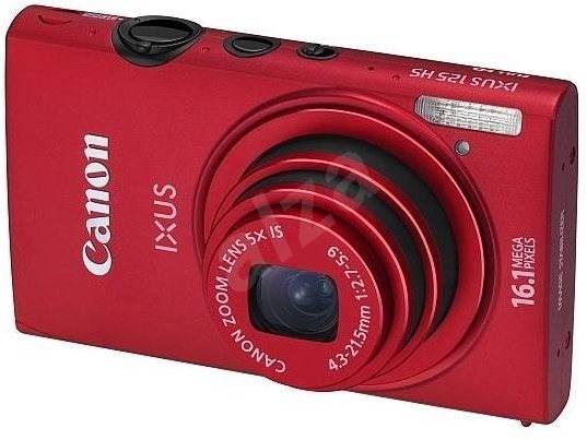 Canon IXUS 125 HS červený - Digitální fotoaparát