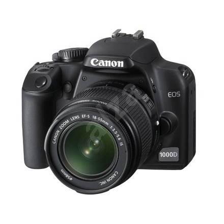 Canon EOS 1000D + EF-S 18-55mm IS - Digitální zrcadlovka